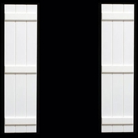 Premier PVC Composite Board & Batten Exterior Shutters - Direct Mount