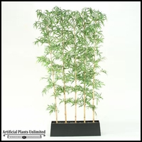 Bamboo Screen in Rectangle Planter, 8'