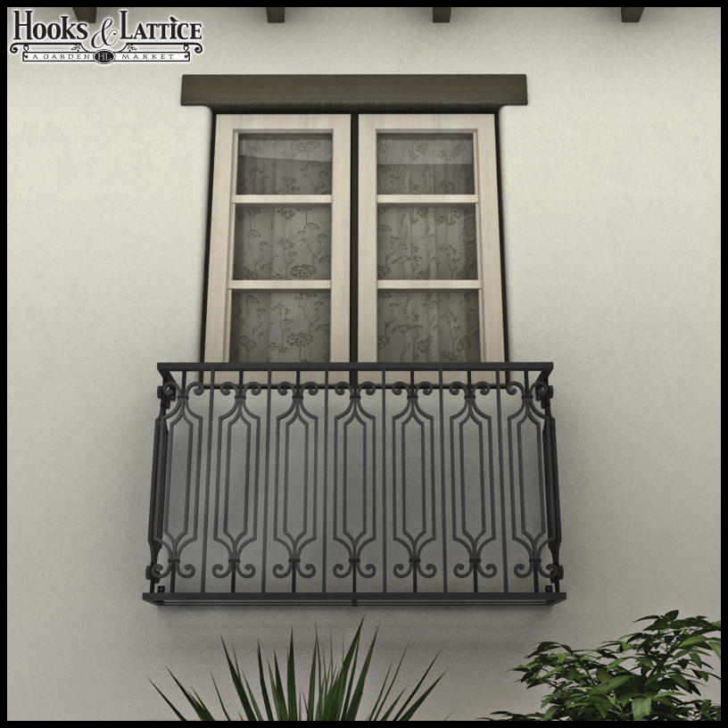 Bayberry false balcony for Balcony french