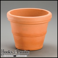 Belaire 12in. Planter - Weathered Terra Cotta
