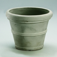 Belaire 35in. Planter - Weathered Concrete