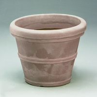 Belaire 35in. Planter - Weathered Stone