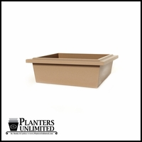 Belterra Square Low Bowl Planter