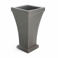Bloomington 40 inch Tall Patio Planter - Sandstone