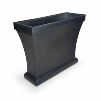 Bloomington Trough Planter - Black