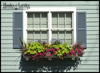 Bob's Panel Premier Window Box with Faux Brackets