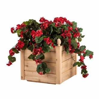 22in. Bonita Cedar Deck Planter