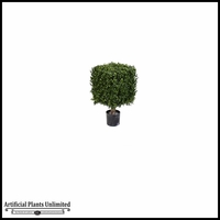 21in., 33in. Or 39in. Boxwood Cube Tree
