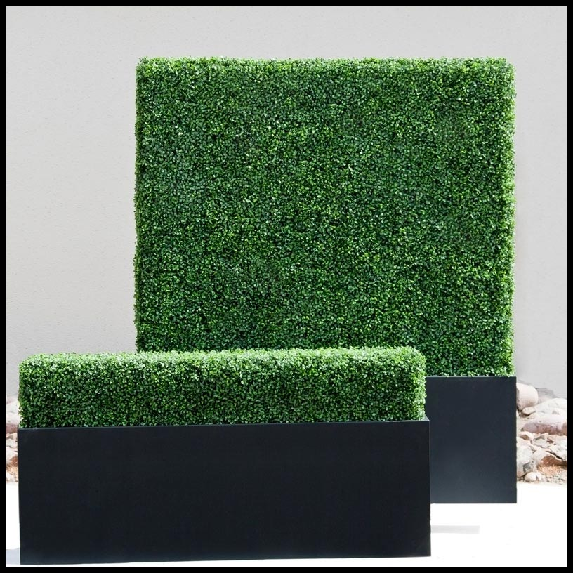 custom artificial boxwood hedges | artificial plants unlimited Artificial Plants for Outdoor Planters