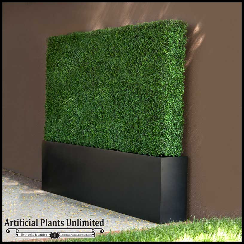 Custom Artificial Boxwood Hedges Artificial Plants Unlimited