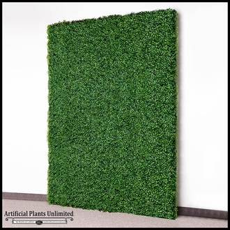 Boxwood Indoor Artificial Living Wall 96in.L x 72in.H w/ 12in. Frame