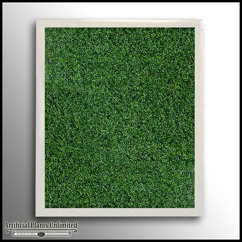 Framed Boxwood Hedge Panel, Green Wall   Artificial Plants Unlimited