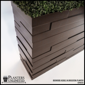 Brockton Rectangular Fiberglass Planter 48in.L x 18in.W x 18in.H