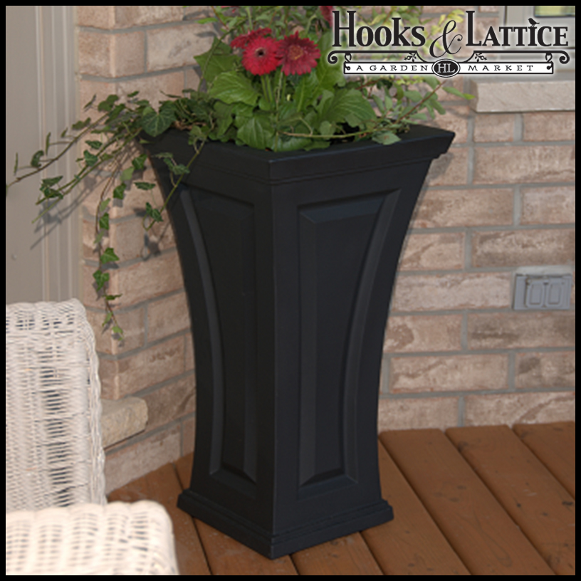 Camden Tall Outdoor Planters Patio Garden Planters