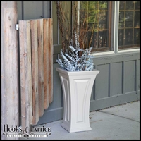 Camden Tall Tapered Patio Planter - Clay