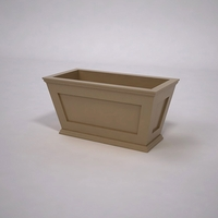 Cape Cod Tapered Commercial Planter 36in.L x 18in.W x 18in.H