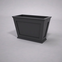 Cape Cod Tapered Commercial Planter 36in.L x 18in.W x 24in.H