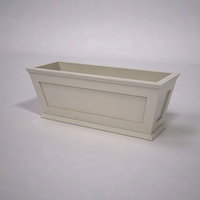 Cape Cod Tapered Commercial Planter 48in.L x 18in.W x 18in.H