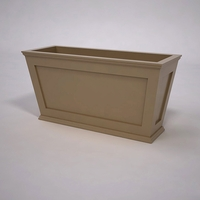 Cape Cod Tapered Commercial Planter 48in.L x 18in.W x 24in.H