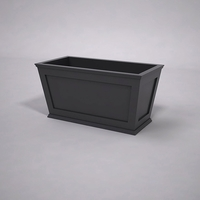 Cape Cod Tapered Commercial Planter 48in.L x 24in.W x 24in.H