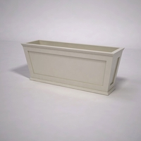 Cape Cod Tapered Commercial Planter 60in.L x 18in.W x 24in.H