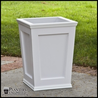 Cape Cod Tapered Commercial Planter 18in.L x 18in.W x 24in.H