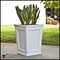 Cape Cod Tapered Commercial Planter 24in.L x 24in.W x 18in.H