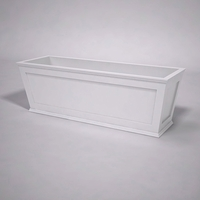 Cape Cod Tapered Commercial Planter 72in.L x 24in.W x 24in.H