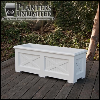 Carriage House Premier Composite Commercial Planter 36in.L x 18in.W x 18in.H