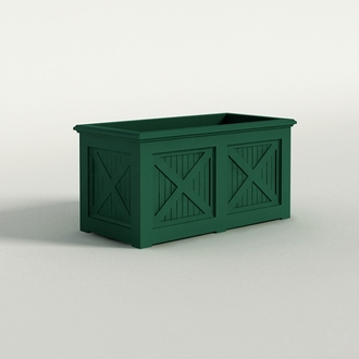 Carriage House Premier Composite Commercial Planter 48in.L x 24in.W x 24in.H