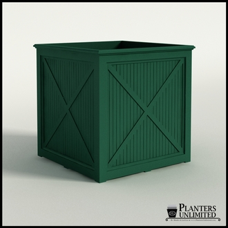 Carriage House Premier Composite Commercial Planter 48in.L x 48in.W x 48in.H