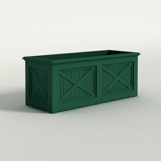 Carriage House Premier Composite Commercial Planter 60in.L x 24in.W x 24in.H