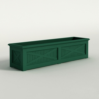 Carriage House Premier Composite Commercial Planter 72in.L x 18in.W x 18in.H