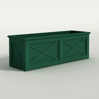 Carriage House Premier Composite Commercial Planter 72in.L x 24in.W x 24in.H