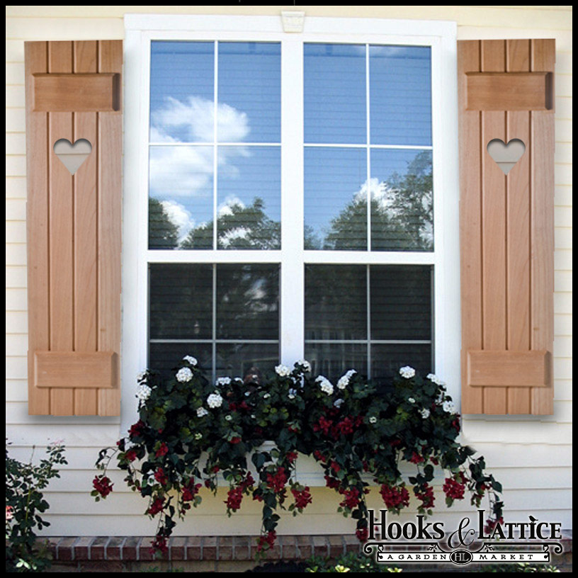 Exterior wood shutters for windows hooks lattice for 18 inch wide exterior shutters
