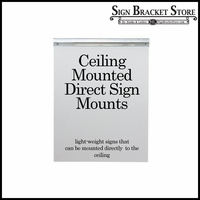 Ceiling Mount Sign Hardware