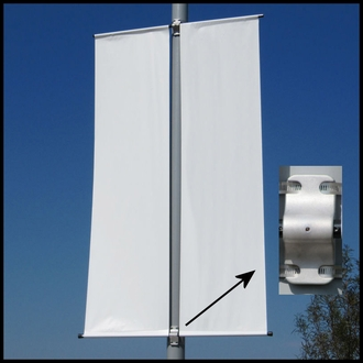 CitySite Dual Span Banner Bracket Set (Top & Bottom)