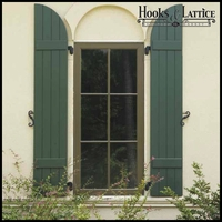 Classic Composite Board and Batten Exterior Shutters