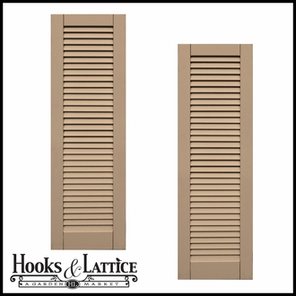 Classic Composite Louvered Shutters