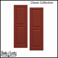 Classic Composite Raised Panel Shutters