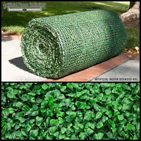 Commercial Artificial Boxwood Indoor Roll|3 Sizes to Choose From