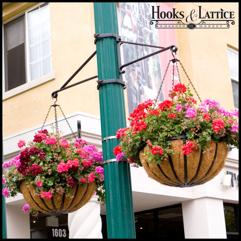 Commercial Hanging Basket Brackets Click To Enlarge