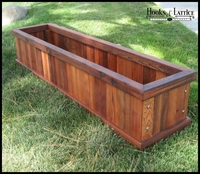 Commercial Redwood Planters