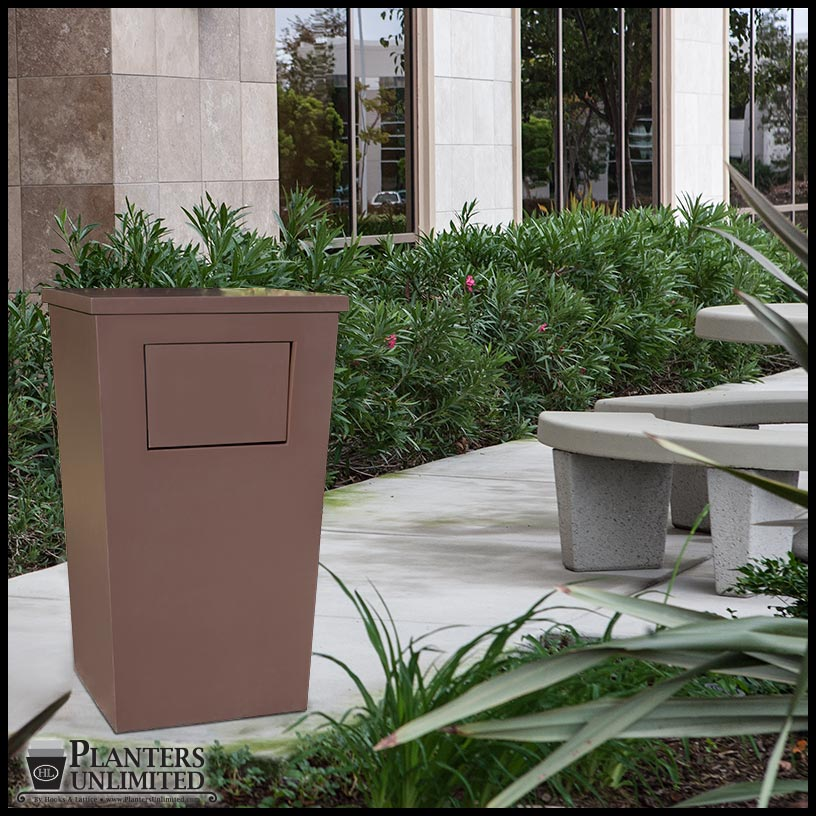Commercial Trash Receptacles Garbage Bins Planters