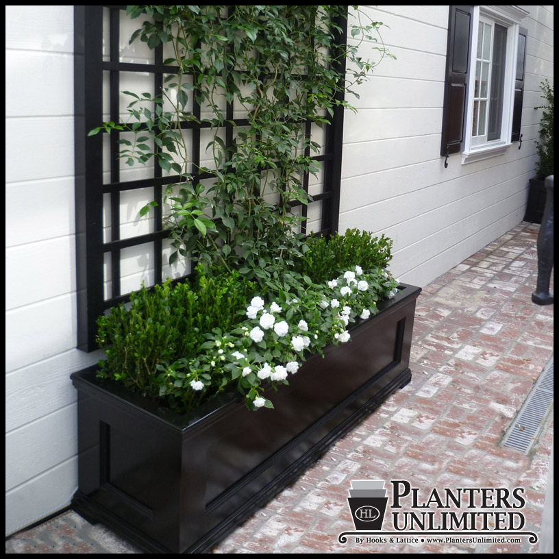 Modern traditional planters commercial composite planters click to enlarge workwithnaturefo