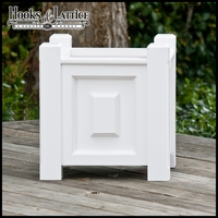 Composite Raised Panel Premier Square Planter Box