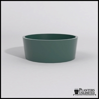 Contempo Tapered Fiberglass Commercial Planter 48in.Dia. x 18in.H