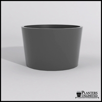 Contempo Tapered Fiberglass Commercial Planter 48in.Dia. x 30in.H