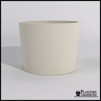 Contempo Tapered Fiberglass Commercial Planter 48in.Dia. x 36in.H