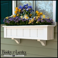 "Coronado Premier Window Boxes w/ ""Easy Up"" Cleat Mounting System"